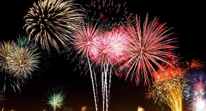 Fireworks @ Intersection of Bagley Rd & Engle Road